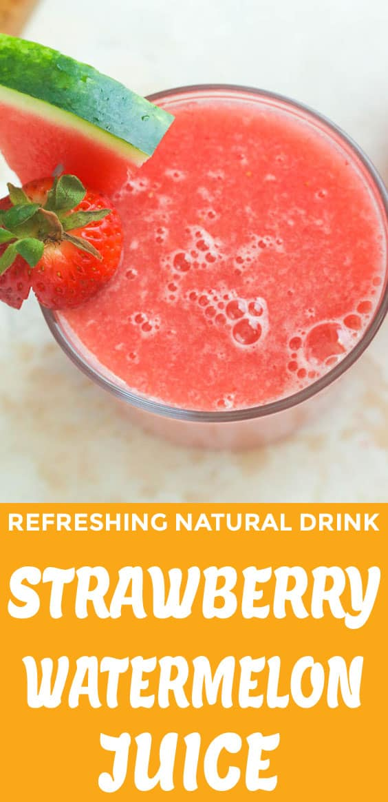 Strawberry Watermelon Juice