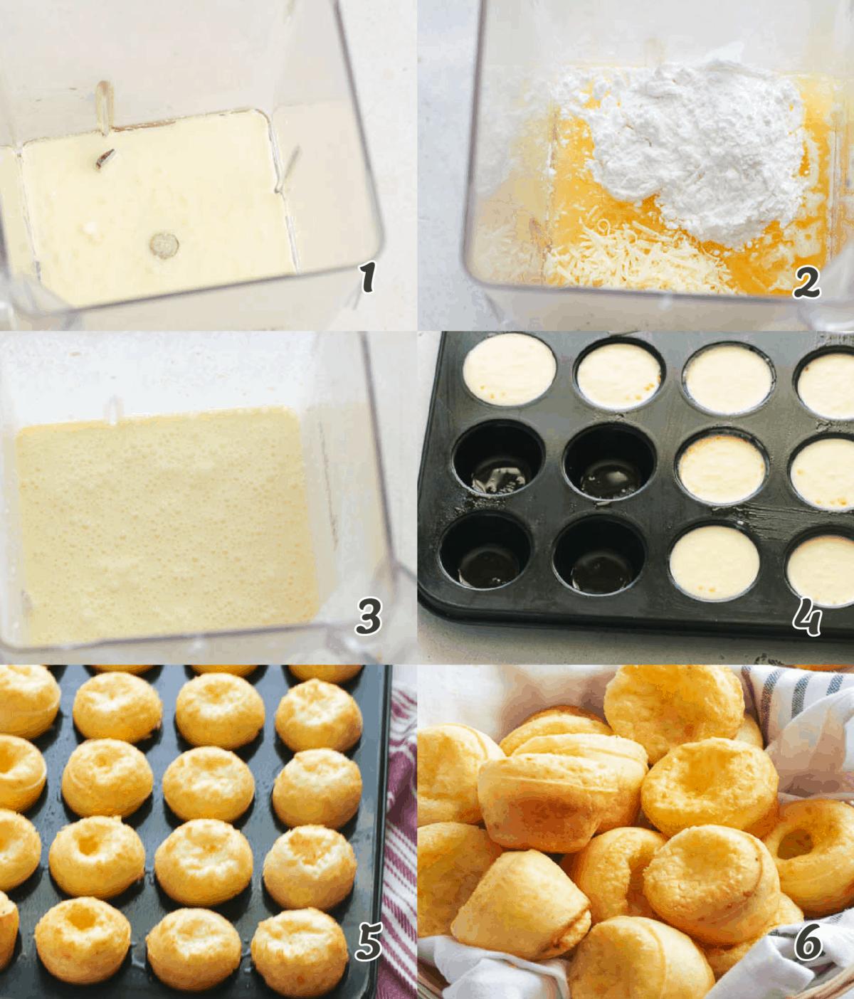 How to Make Pao de Queijo