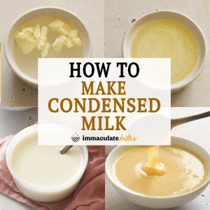 How to Make Condensed Milk