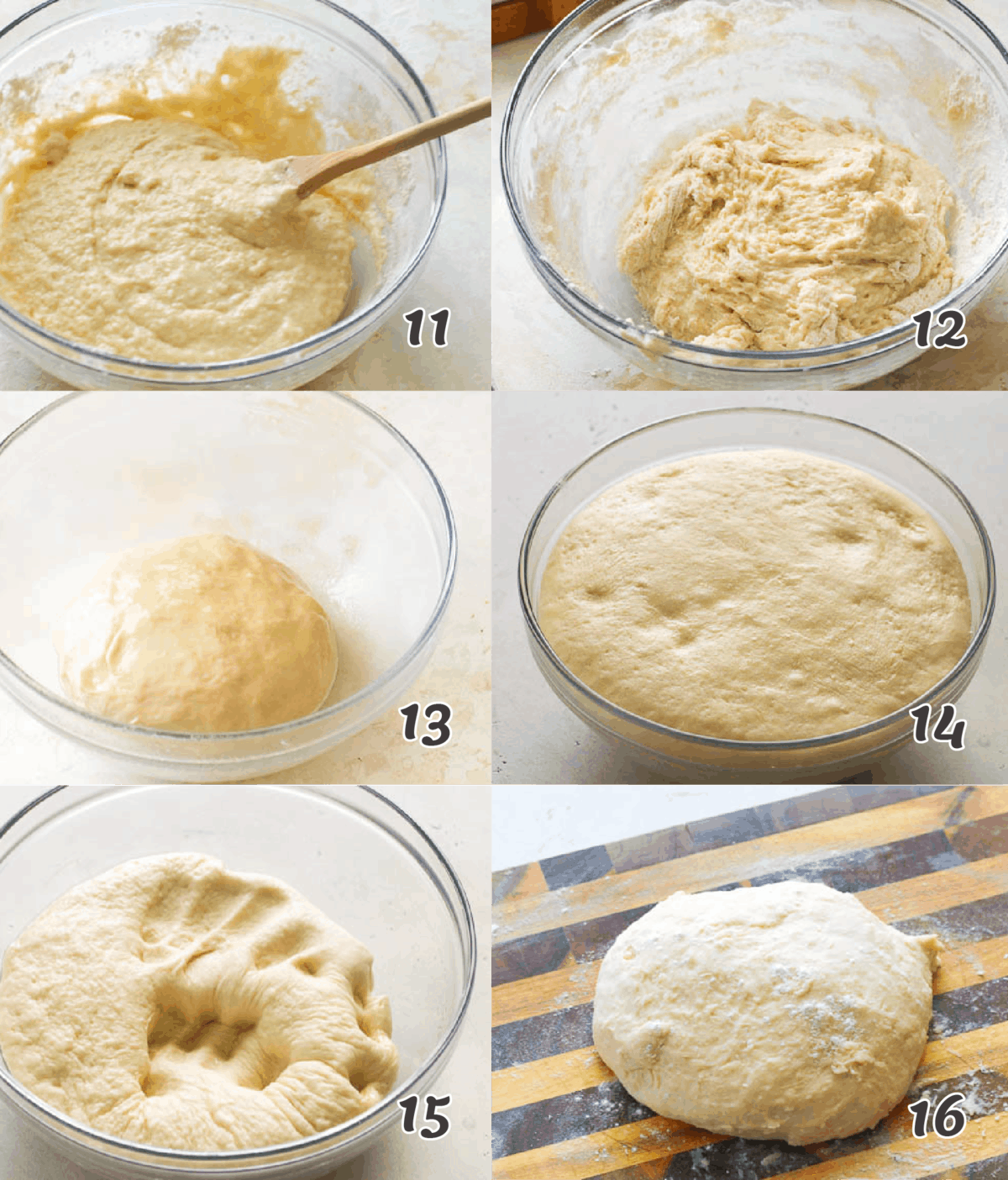 Potato Bread Dough