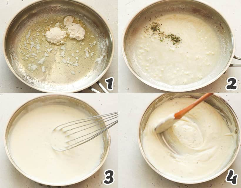 How to Make White Pizza Sauce