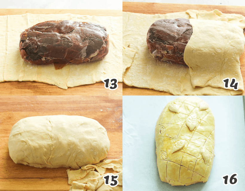 How to Wrap a Beef Wellington