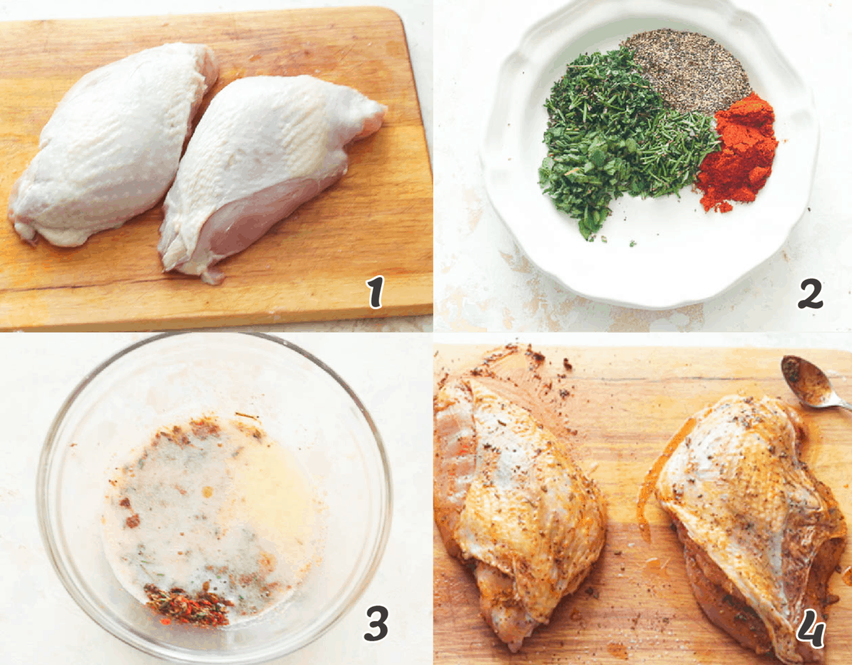 Dry Brining Turkey Breast