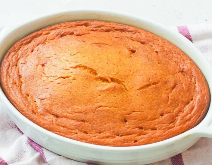 Baked Carrot Souffle