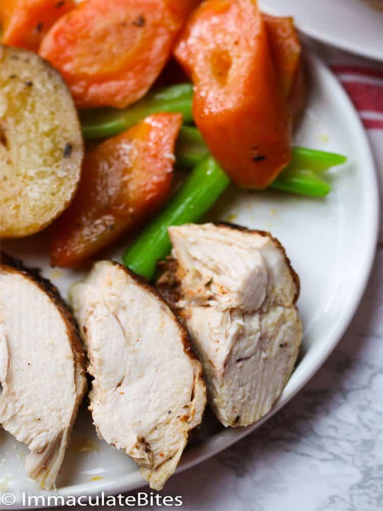 Instant Pot Chicken Slices