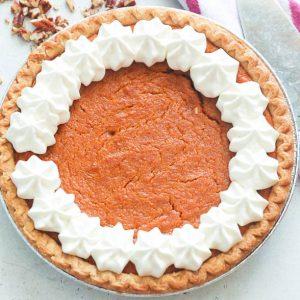 Whole sweet potato pie