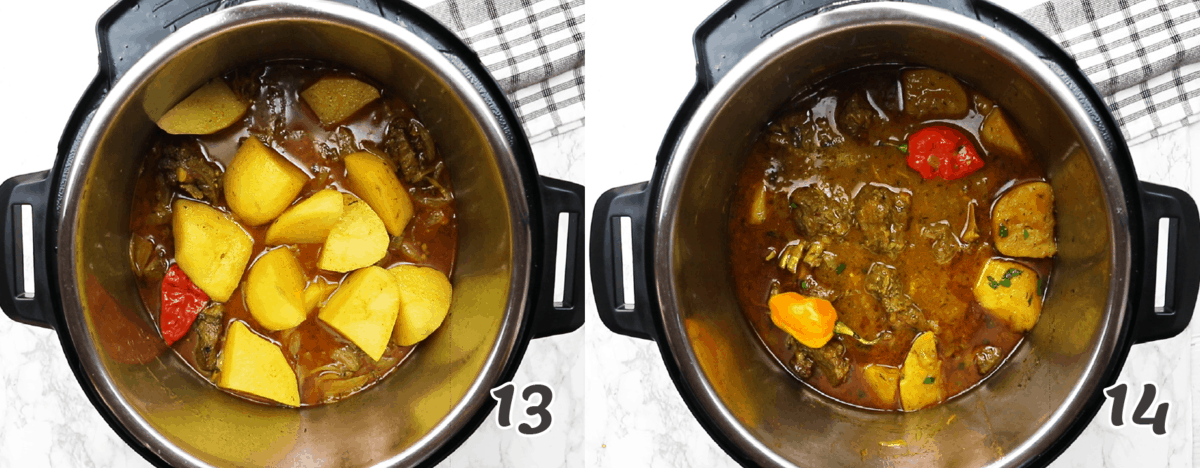 How to Make Curry Goat in an Instant Pot