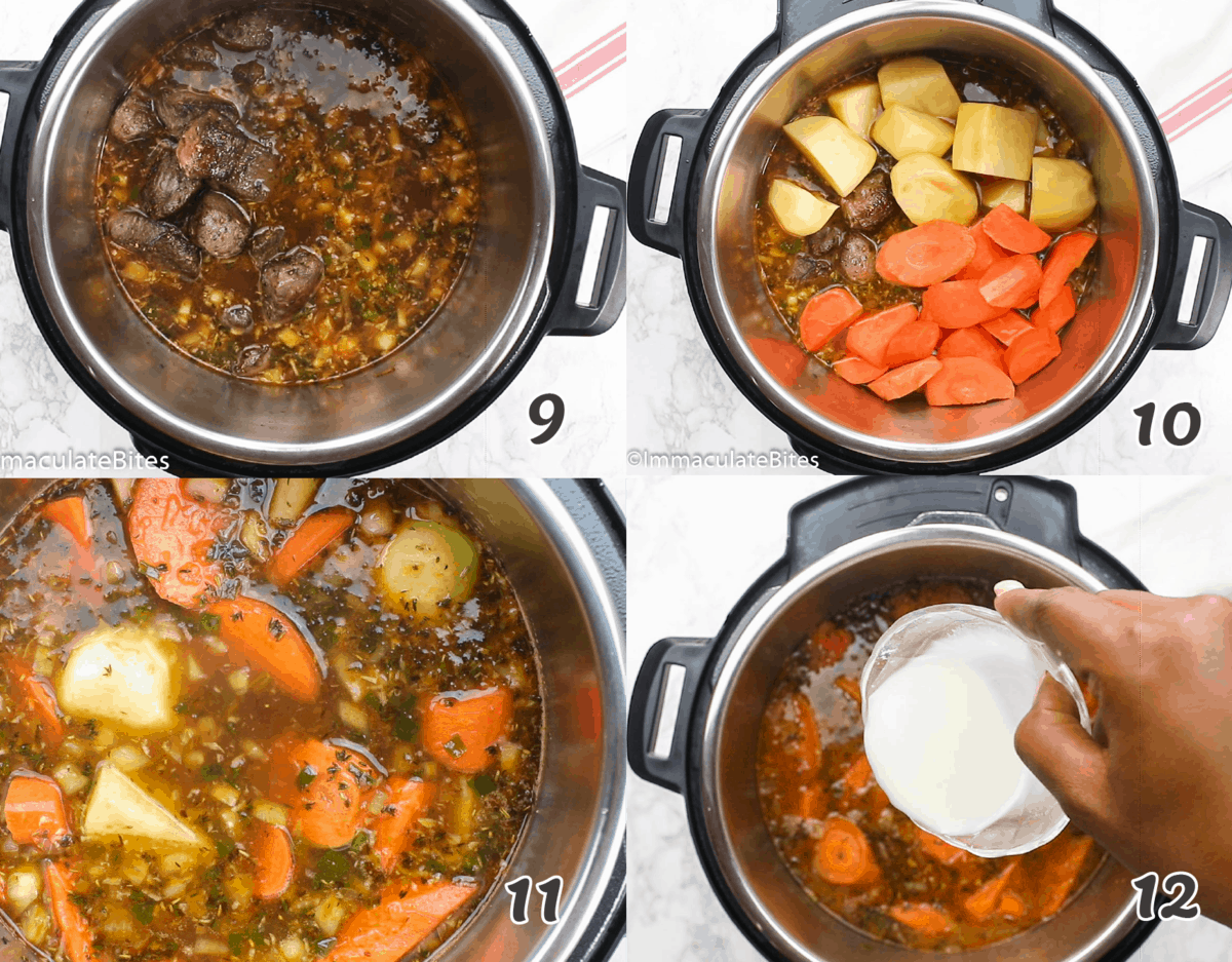 How to Make Beef Stew in an Instant Pot