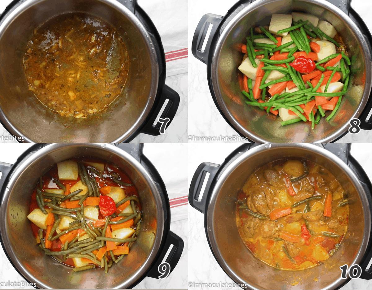 Quick curry recipe