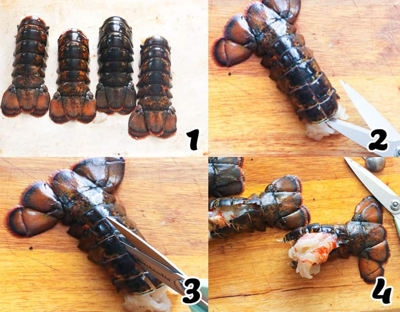 How to Cut Lobster Tails