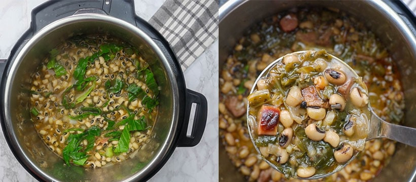 How to Make Black Eyed Peas in an Instant Pot