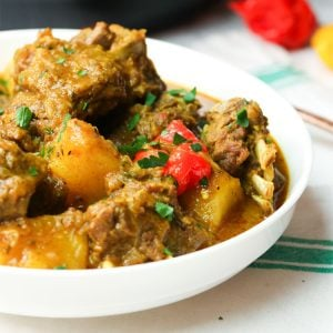 Instant Pot Curry Goat