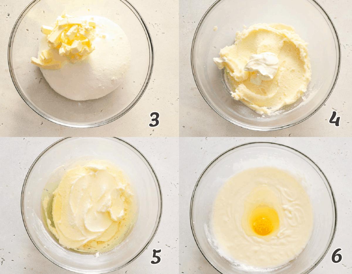 Making the cupcake batter