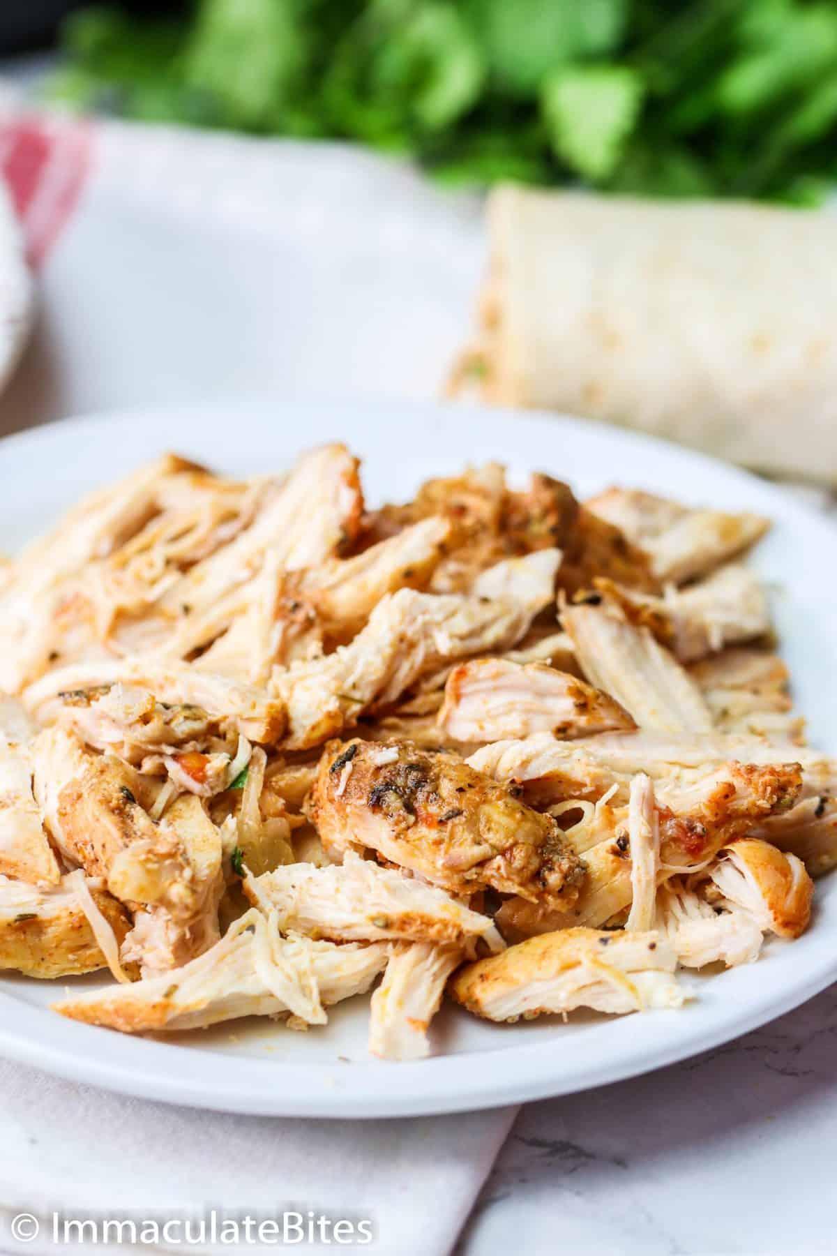 Chunky Shredded Chicken