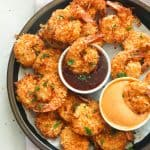 Dipped Air Fryer Coconut Shrimp