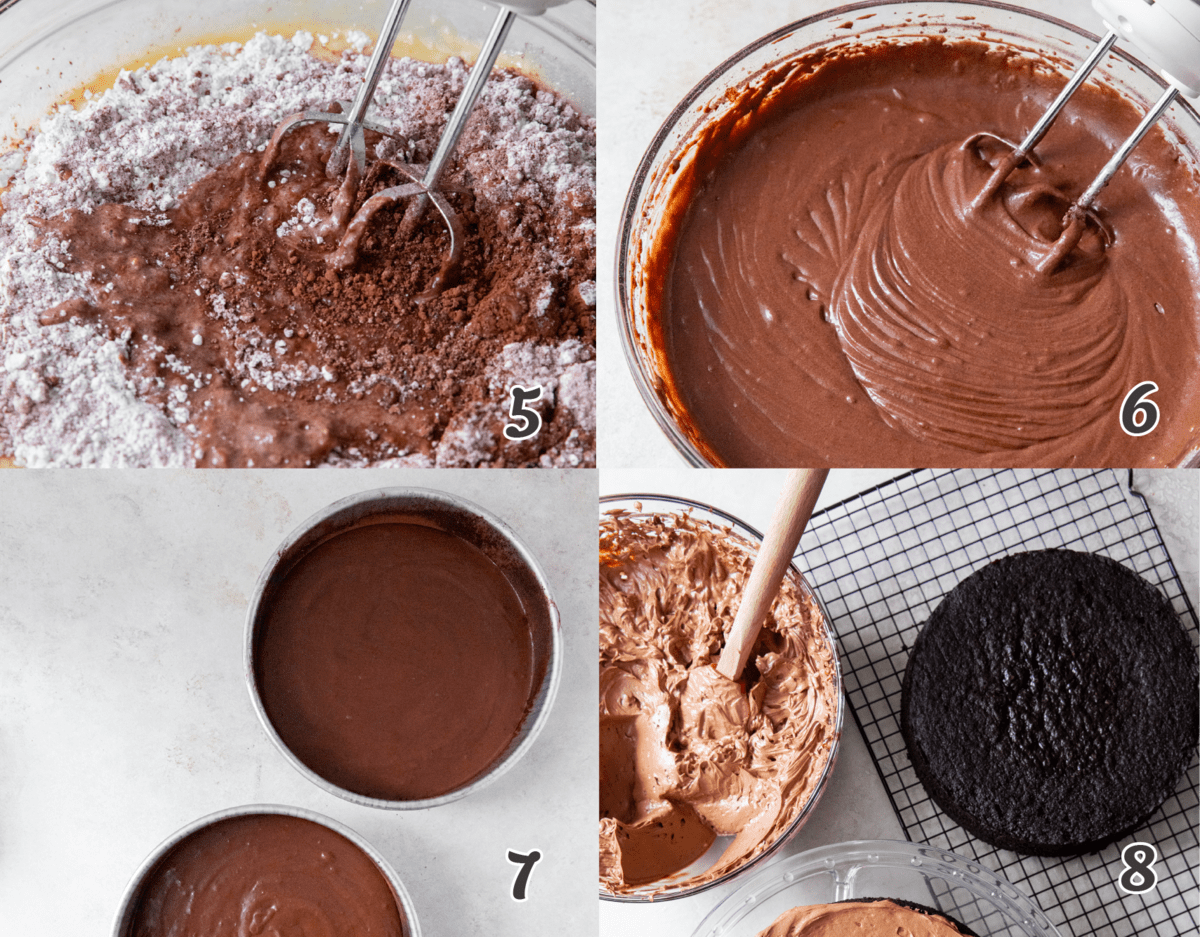 How To Make Devil's Food Cake.2