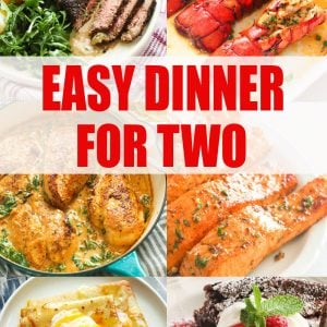 Easy Dinner for Two