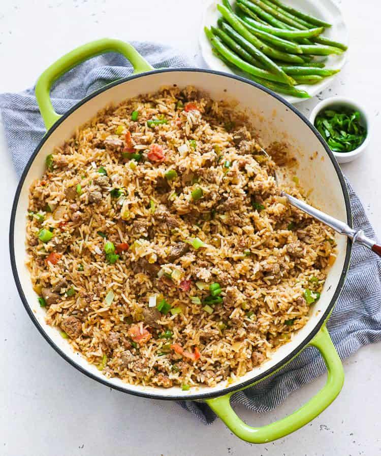One-Pan Cajun Rice