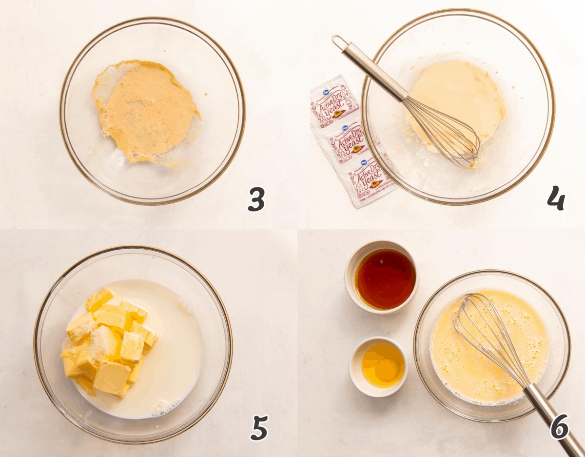 Honey Wheat Roll Dough