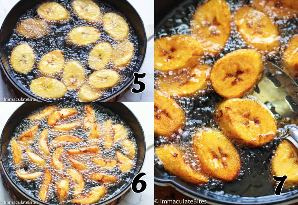 Frying Plantain- both options