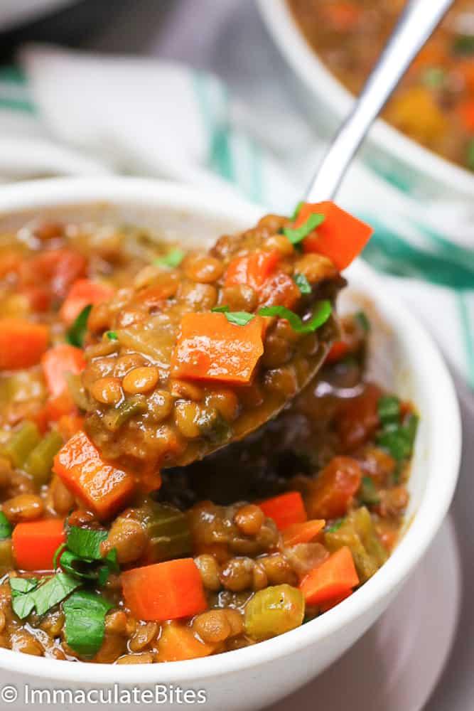 A Hearty Bowl of Lentil Soup