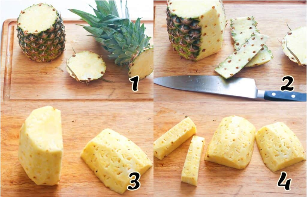 Pineapple Salsa Instructions 1-4
