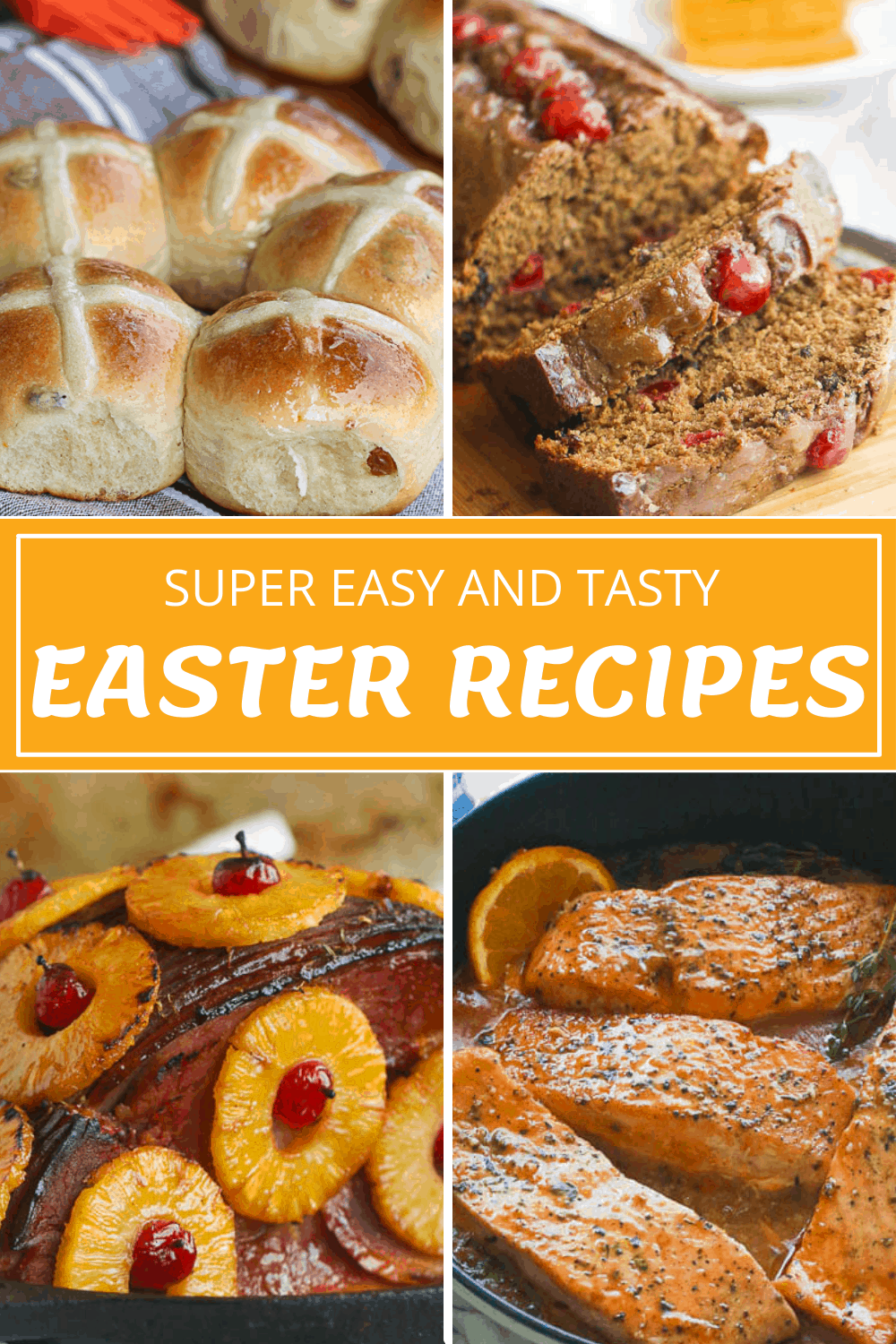 Easter Recipe Collage