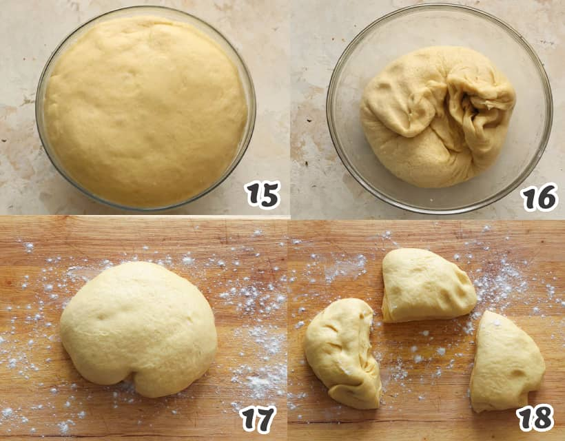 how to knead the dough