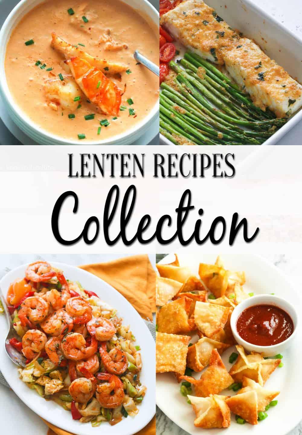 Lenten Recipes Collection