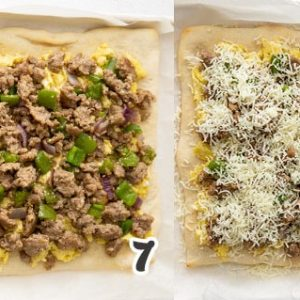 How to Make Sausage Breakfast Pizza