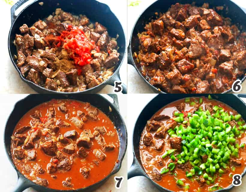 how to make the beef tender in carne guisada
