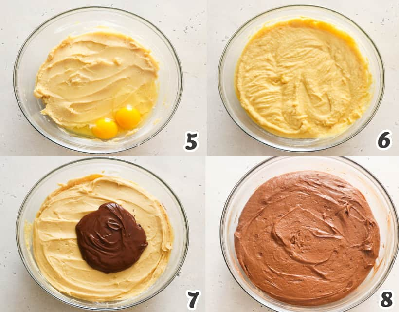 how to make chocolate pound cake batter
