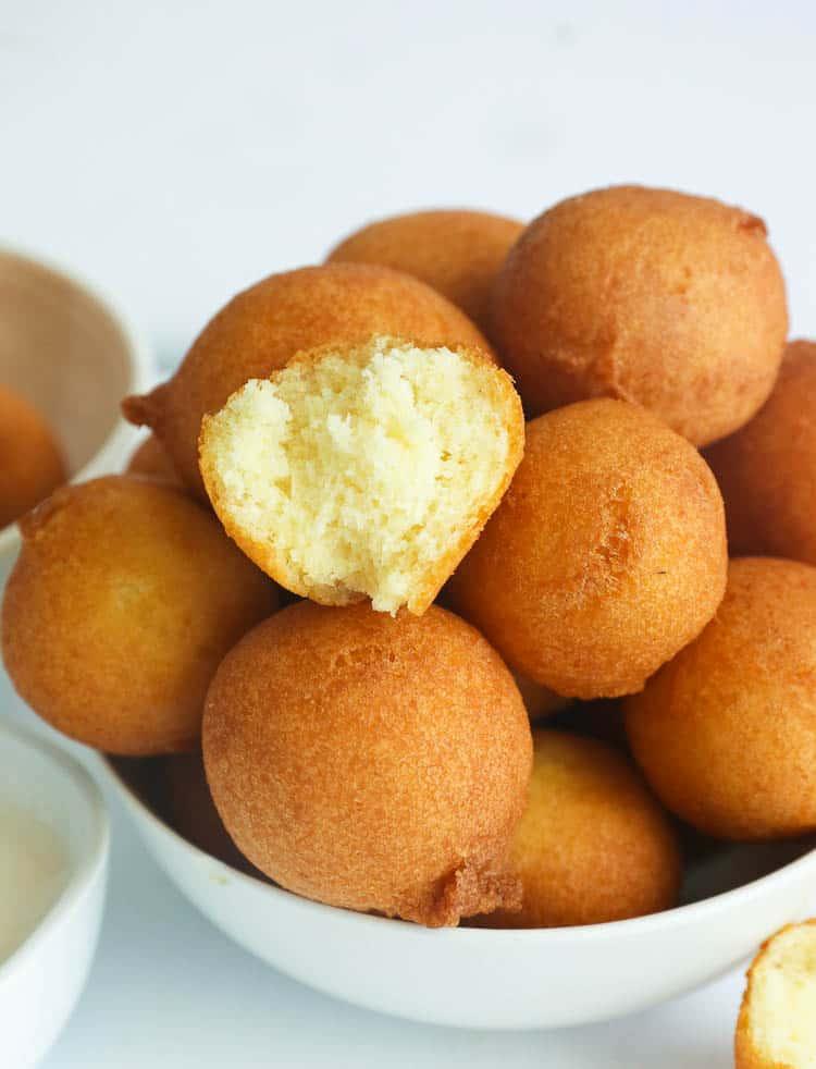 plain fried donut holes