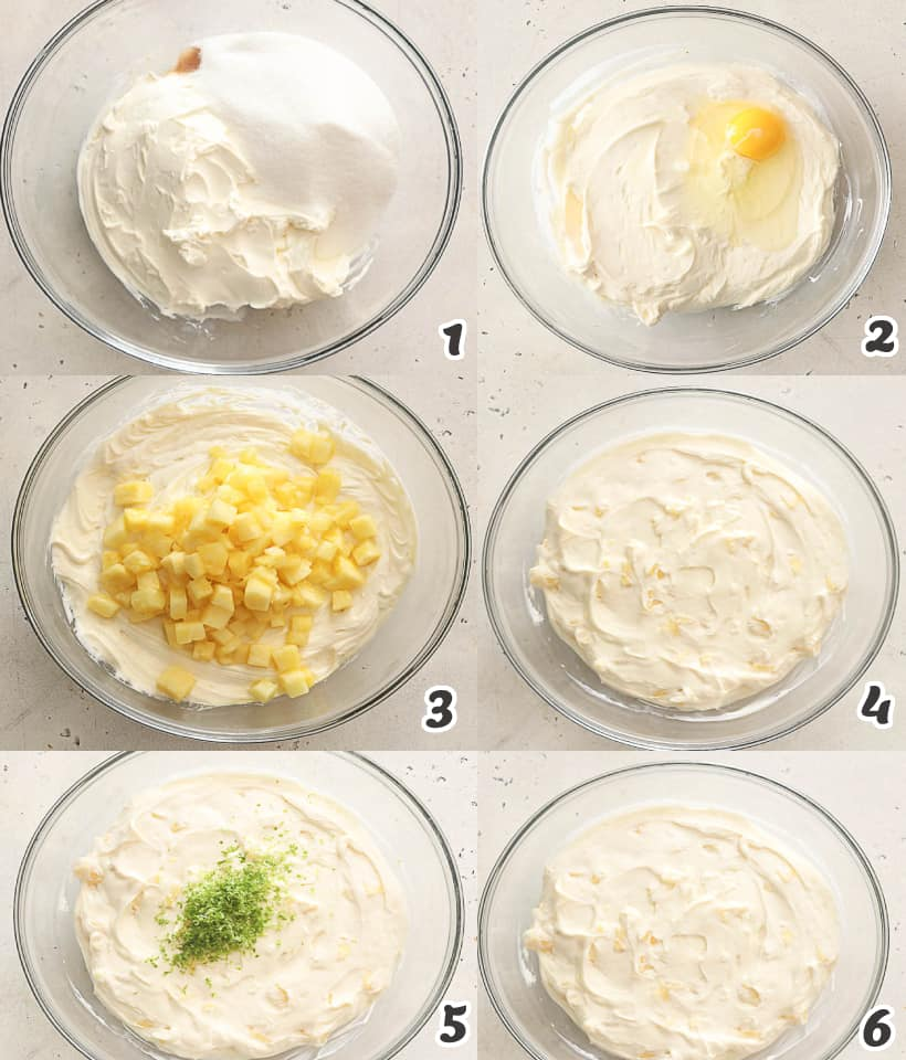 how to make the cheesecake layer