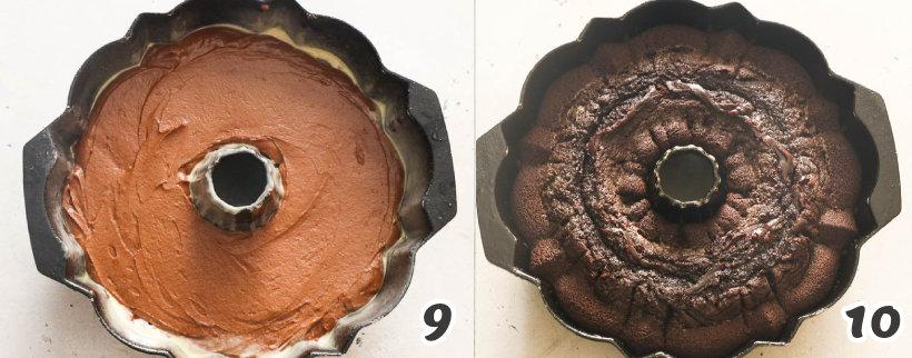 how to bake chocolate pound cake