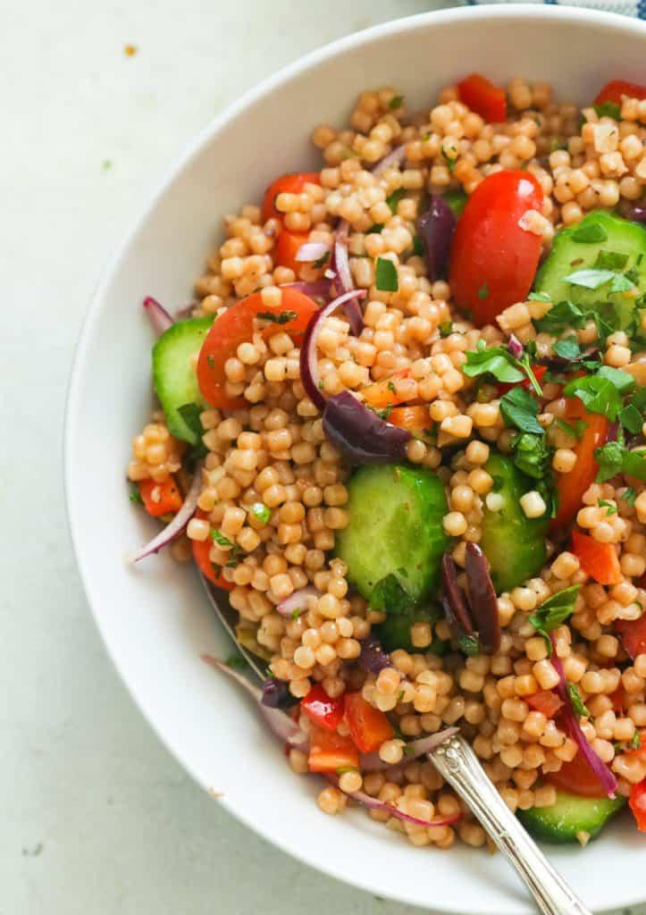 Pearl Couscous salad bowl