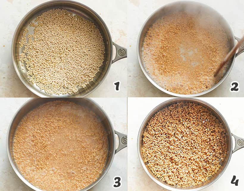 Cooking the Israeli Couscous