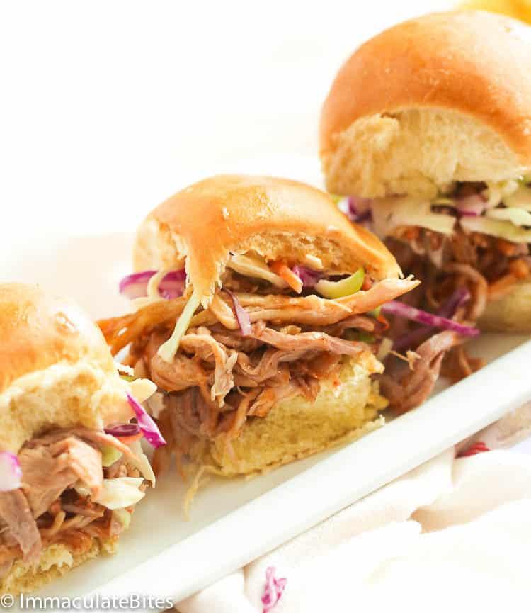 Pulled Pork in Sandwich