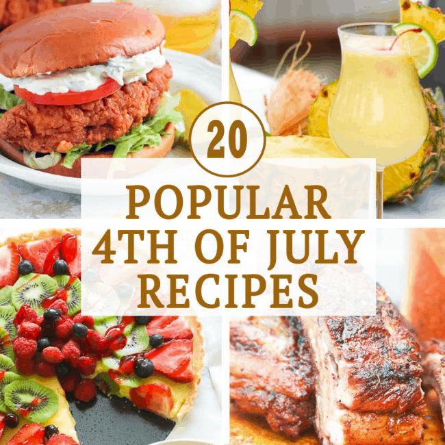 20 Popular 4th of July Recipes