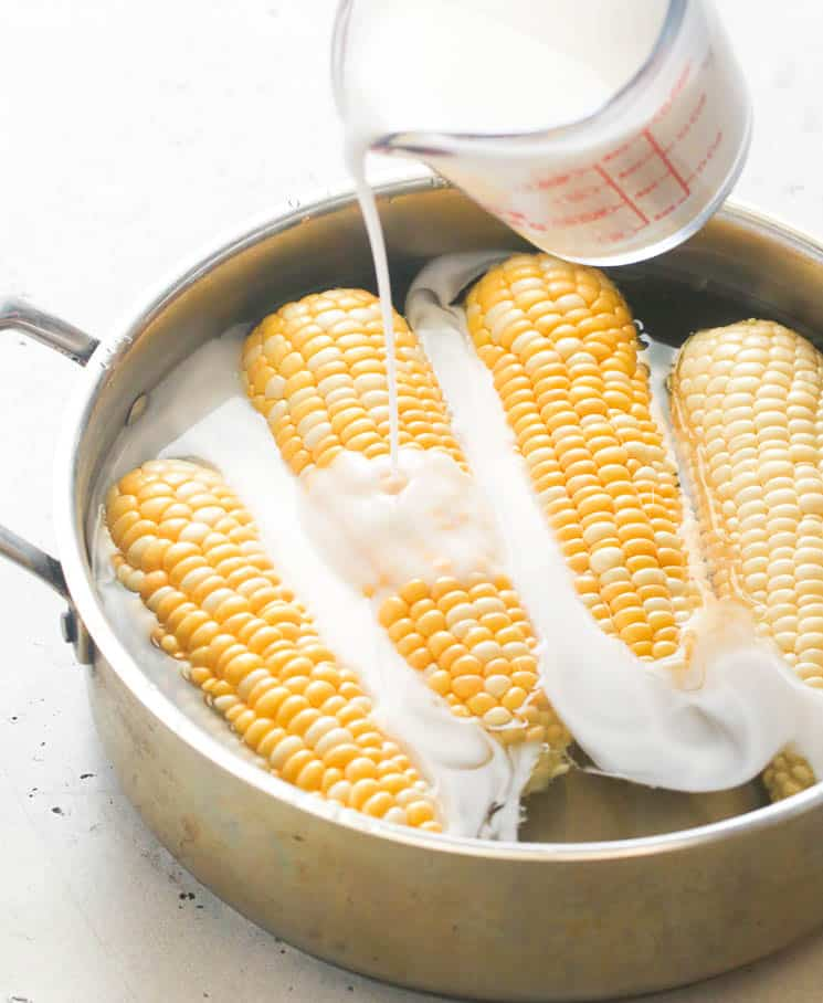 How to Boil Corn (Using Coconut Milk)