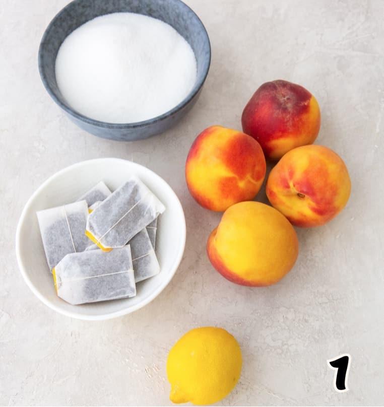 Peach Tea Ingredients