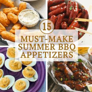 Must-Make Summer BBQ Appetizers