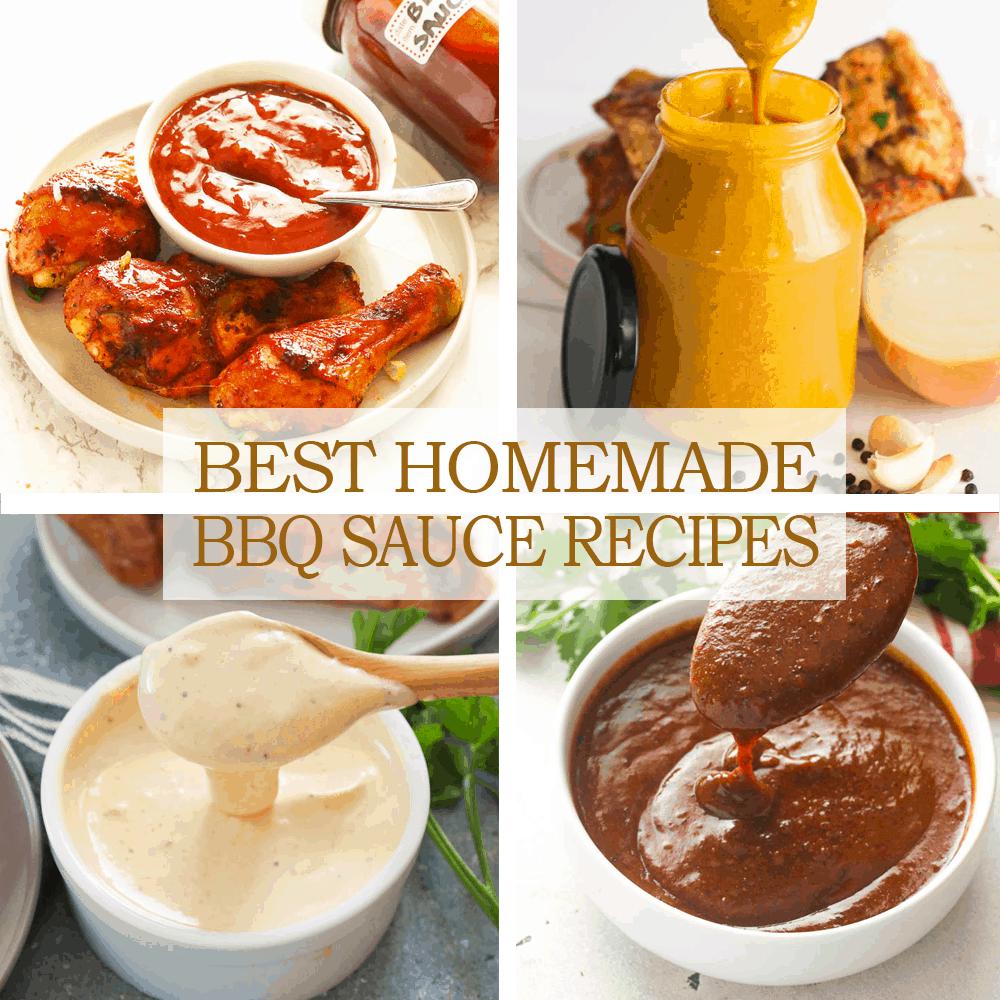 Best Homemade BBQ Sauce Recipes