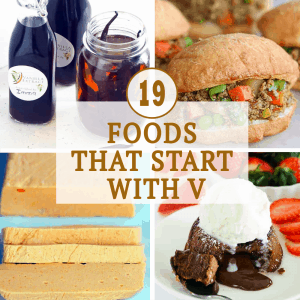 Foods That Starts with V