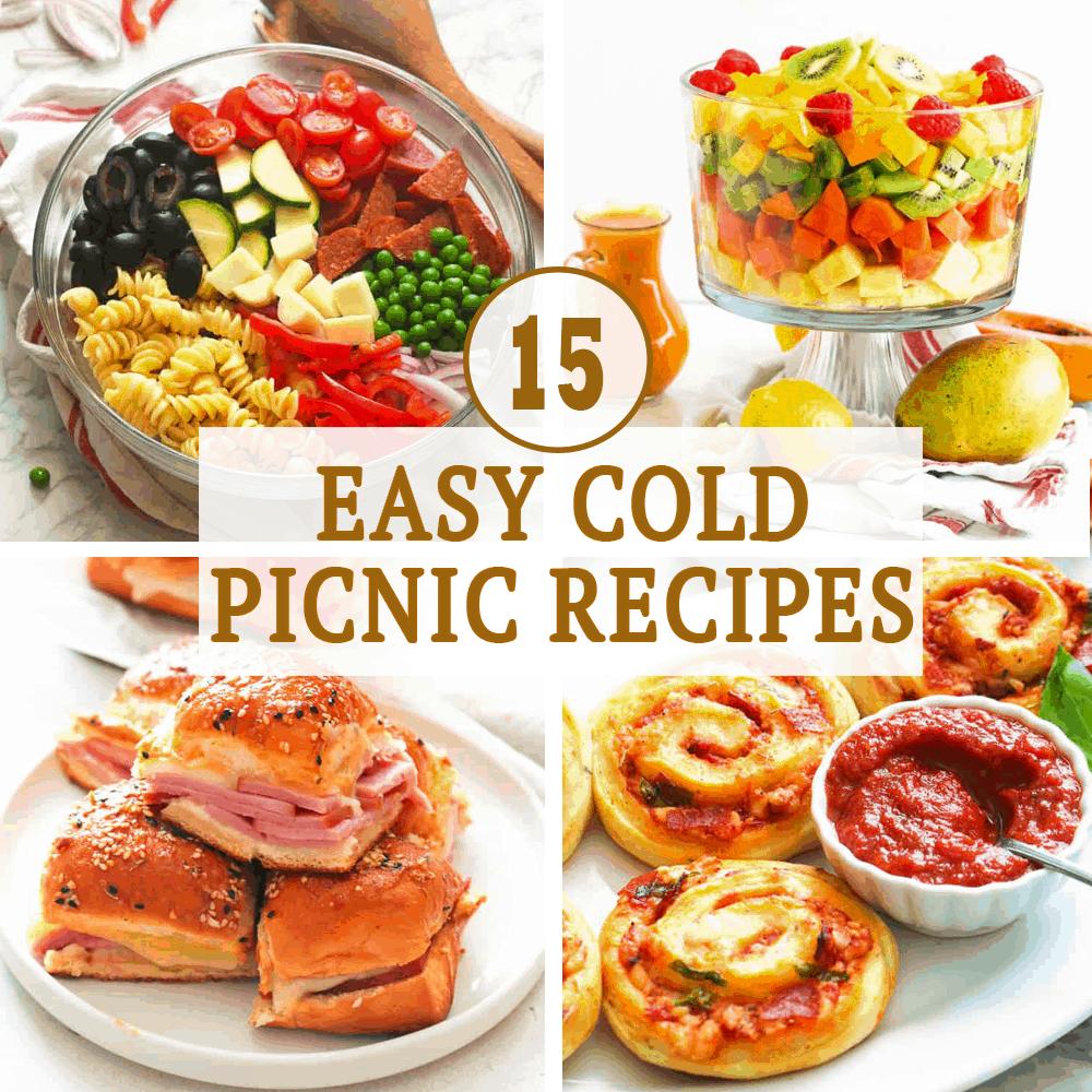 Easy Cold Picnic Recipes