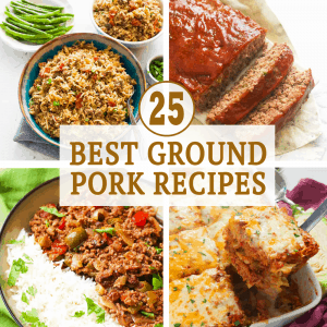 Best Ground Pork Recipes
