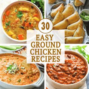 Easy Ground Chicken Recipes
