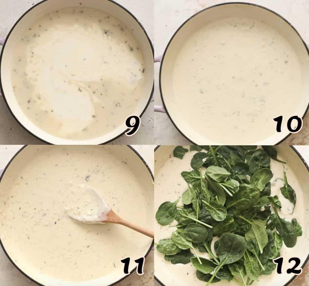 Chicken Lasagna Instructions 9-12