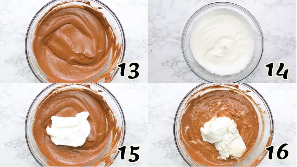 Chocolate Mousse Instructions 13-16
