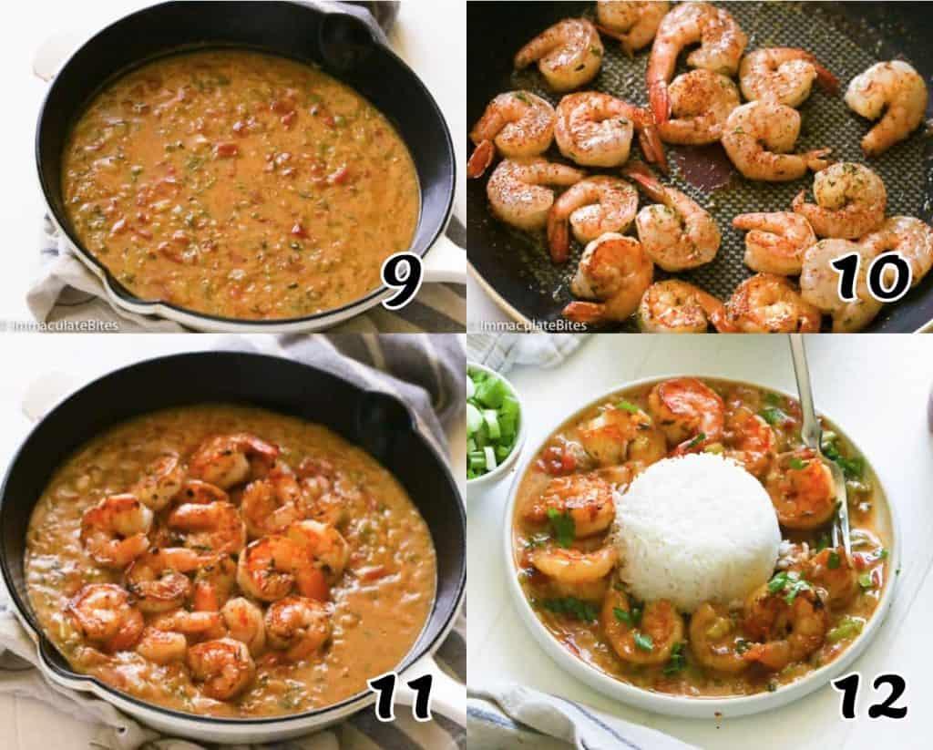 Shrimp Etouffee Instructions 9-12